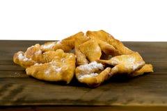 Σπιτικά μπισκότα, brushwood cruller στοκ εικόνα