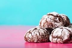 Σπιτικά ψημένα πρόχειρα φαγητά σοκολάτας Στοκ φωτογραφίες με δικαίωμα ελεύθερης χρήσης
