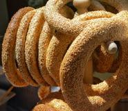 Σπιτικά bagels Στοκ Εικόνα