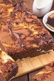 Σπιτικά brownies Στοκ Φωτογραφίες