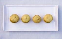 Σπιτικά macarons Στοκ φωτογραφία με δικαίωμα ελεύθερης χρήσης