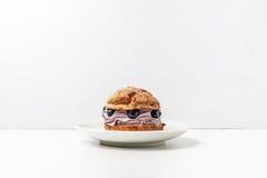 Σπιτικά muffins βακκινίων Στοκ Φωτογραφίες