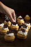 σπιτικά muffins Στοκ Φωτογραφίες