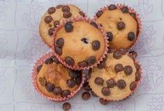 σπιτικά muffins στοκ φωτογραφία