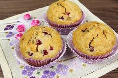 σπιτικά muffins Στοκ εικόνες με δικαίωμα ελεύθερης χρήσης