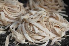 Σπιτικά noodles Στοκ Εικόνες