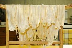σπιτικά noodles Στοκ εικόνες με δικαίωμα ελεύθερης χρήσης