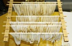 σπιτικά noodles Στοκ φωτογραφία με δικαίωμα ελεύθερης χρήσης