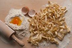 σπιτικά noodles Στοκ Εικόνα
