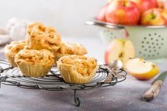 Σπιτικές μίνι πίτες μήλων στοκ εικόνα με δικαίωμα ελεύθερης χρήσης