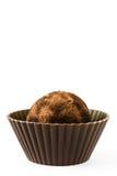 σπιτικές τρούφες σοκολά& Στοκ φωτογραφία με δικαίωμα ελεύθερης χρήσης