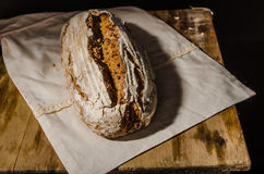 Σπιτική αγροτική μαγιά ψωμιού Στοκ Φωτογραφία