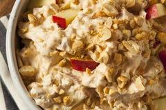 Σπιτική γλυκιά σαλάτα της Apple καραμελών Στοκ εικόνα με δικαίωμα ελεύθερης χρήσης