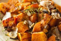 Σπιτική μαγειρευμένη γλυκιά πατάτα στοκ φωτογραφία με δικαίωμα ελεύθερης χρήσης