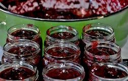σπιτική μαρμελάδα Στοκ φωτογραφία με δικαίωμα ελεύθερης χρήσης
