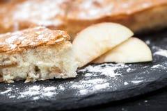 Σπιτική ορεκτική πίτα της Apple Στοκ εικόνα με δικαίωμα ελεύθερης χρήσης