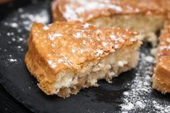 Σπιτική ορεκτική πίτα της Apple Στοκ Εικόνες