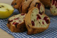 σπιτική πίτα κερασιών Στοκ εικόνες με δικαίωμα ελεύθερης χρήσης