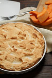 Σπιτική πίτα κολοκύθας για Thanksigiving Στοκ εικόνες με δικαίωμα ελεύθερης χρήσης