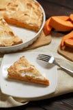 Σπιτική πίτα κολοκύθας για Thanksigiving Στοκ φωτογραφίες με δικαίωμα ελεύθερης χρήσης
