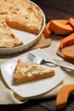 Σπιτική πίτα κολοκύθας για Thanksigiving Στοκ Φωτογραφία