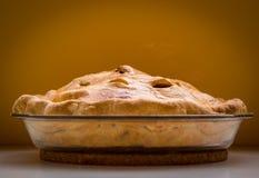Σπιτική πίτα μήλων Στοκ φωτογραφίες με δικαίωμα ελεύθερης χρήσης