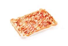 σπιτική πίτα μήλων Στοκ Φωτογραφία