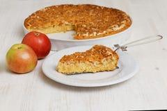 Σπιτική πίτα με τη Apple και το λεμόνι Στοκ εικόνα με δικαίωμα ελεύθερης χρήσης