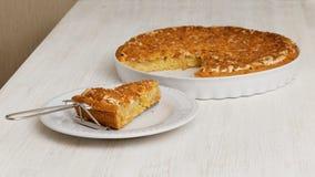 Σπιτική πίτα με τη Apple και το λεμόνι Στοκ Εικόνες