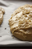 Σπιτική πίτα με το αμύγδαλο Στοκ φωτογραφίες με δικαίωμα ελεύθερης χρήσης