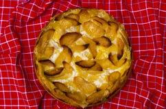 Σπιτική πίτα της Apple Στοκ Εικόνες