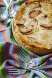 Σπιτική πίτα της Apple Στοκ εικόνα με δικαίωμα ελεύθερης χρήσης