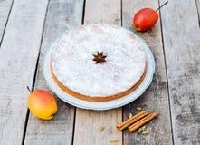 Σπιτική πίτα Στοκ εικόνες με δικαίωμα ελεύθερης χρήσης