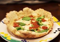 σπιτική πίτσα Στοκ Εικόνες