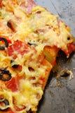 σπιτική πίτσα Στοκ Εικόνα