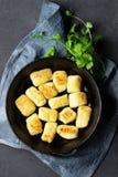 Σπιτική πατάτα Gnocchi r στοκ εικόνα