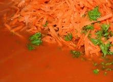 Σπιτική σάλτσα ντοματών Στοκ φωτογραφίες με δικαίωμα ελεύθερης χρήσης