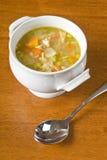 σπιτική σούπα κοτόπουλο&up Στοκ εικόνα με δικαίωμα ελεύθερης χρήσης