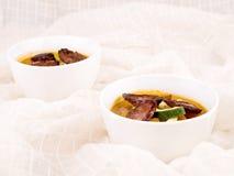 σπιτική σούπα πικάντικα νόσ&tau στοκ φωτογραφίες