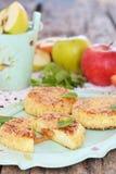 Σπιτική τηγανίτα τυριών εξοχικών σπιτιών Στοκ φωτογραφία με δικαίωμα ελεύθερης χρήσης