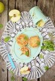Σπιτική τηγανίτα τυριών εξοχικών σπιτιών Στοκ Εικόνες