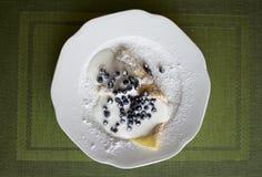 Σπιτική τηγανίτα Στοκ Εικόνα