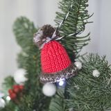 Σπιτικός διακοσμήστε το χριστουγεννιάτικο δέντρο στοκ εικόνες