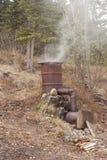 Σπιτικός καπνιστής Στοκ Φωτογραφίες