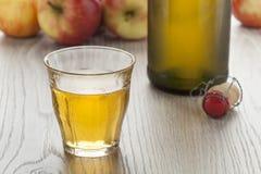Σπιτικός μηλίτης μήλων στοκ εικόνες