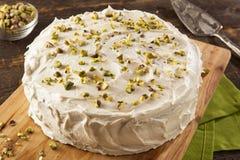 Σπιτικό γαστρονομικό κέικ φυστικιών Στοκ φωτογραφία με δικαίωμα ελεύθερης χρήσης