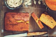 Σπιτικό κέικ λιβρών Στοκ Εικόνα