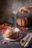 Σπιτικό κέικ bundt Στοκ Εικόνα