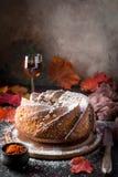 Σπιτικό κέικ bundt Στοκ φωτογραφία με δικαίωμα ελεύθερης χρήσης