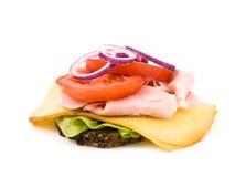 σπιτικό λευκό σάντουιτς &al Στοκ εικόνες με δικαίωμα ελεύθερης χρήσης
